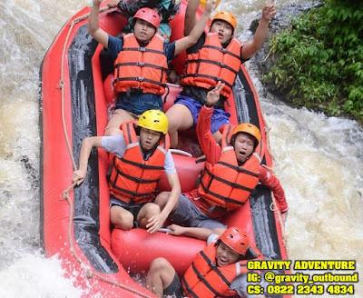 rafting bandung gravity adventure pangalengan bandung west java