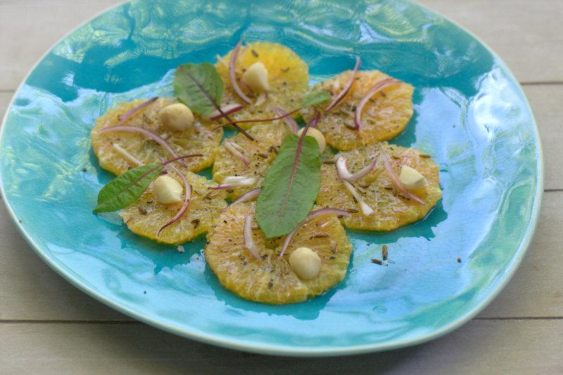 Vegetarische Sommerküche Paul Ivic : Bushcooks kitchen orangensalat mit macadamianüssen vegetarische