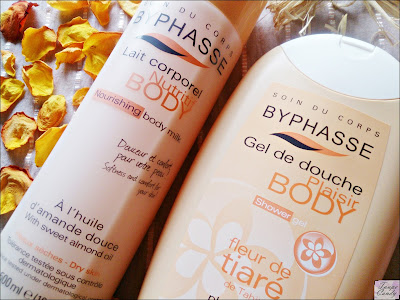 byphasse body milk, byphasse mleko za telo, byphasse gel za tusiranje tiara