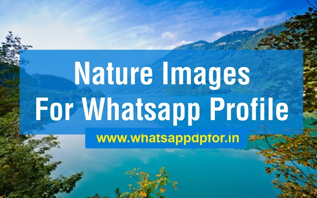 [314+ NEW] Nature Images For Whatsapp Profile | Nature Whatsapp DP Download