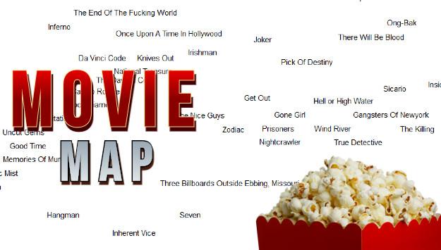 Movie Map - Βρες την ιδανική ταινία για σένα