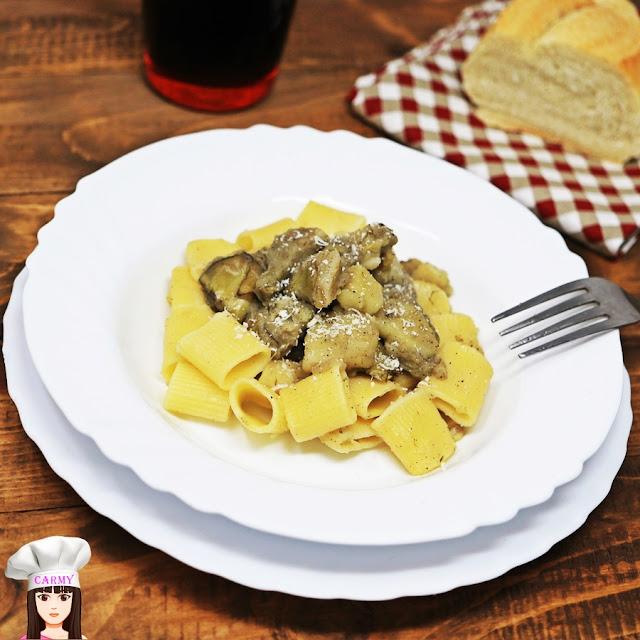 Pasta con patate e carciofi