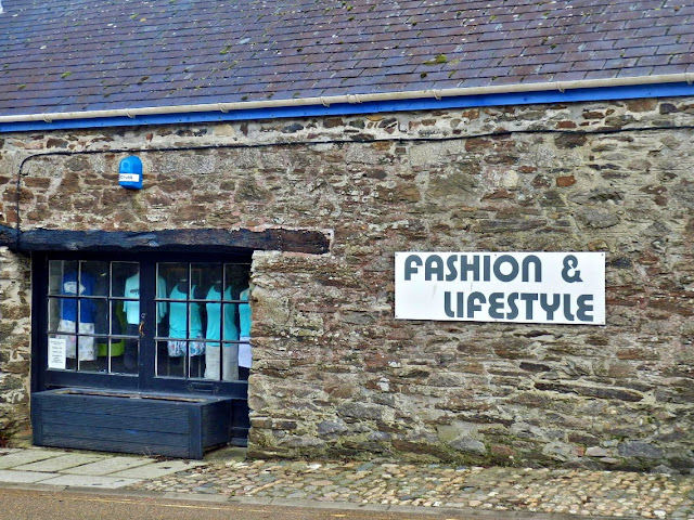 Fashion and Lidestyle shop at Pentewan, Cornwall