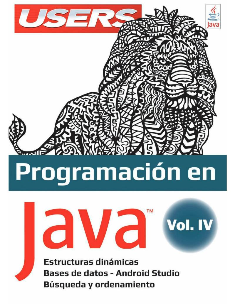 Programación en Java, Volumen 4 – USERS