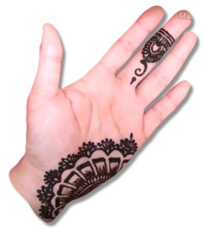 Side Hand Mehndi Designs