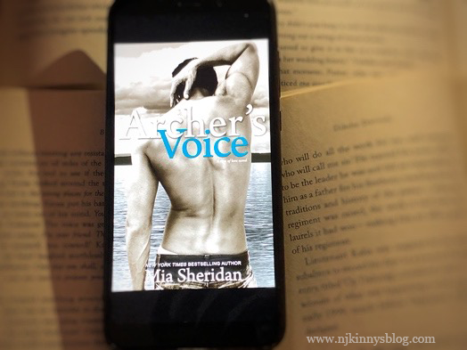 #AtoZChallenge: A for Archer's Voice by Mia Sheridan ~26 Must-Read Romance Books A-Z
