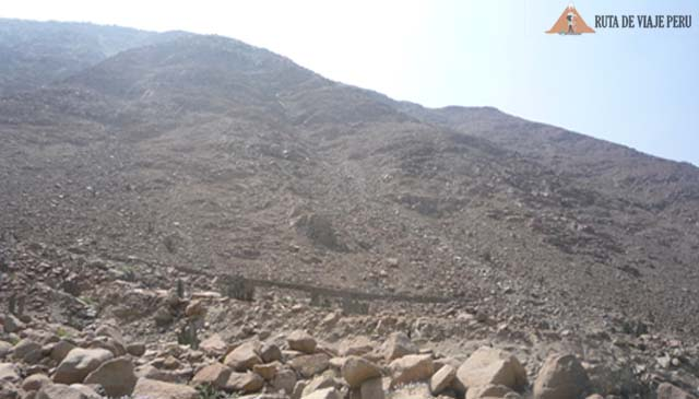 Tramo del Camino Inca Chontay a California