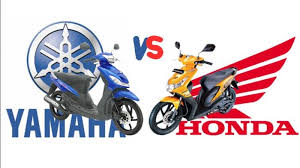 Honda Dan Yamaha merupakan merk motor yang paling di gemari masyarakat Indonesia, keduanya memiliki kelebihan masing-masing sehingga dicintai para pecintanya