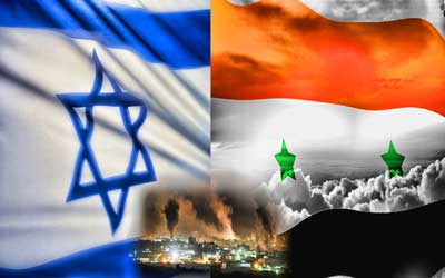 Resultado de imagem para síria vs israel