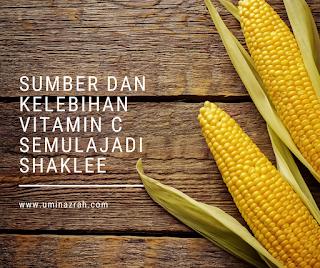 Sumber Kelebihan Jenama Vitamin C Semulajadi Shaklee