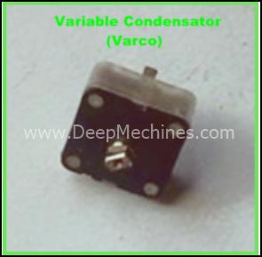 Bentuk Fisik Condensator Variabel