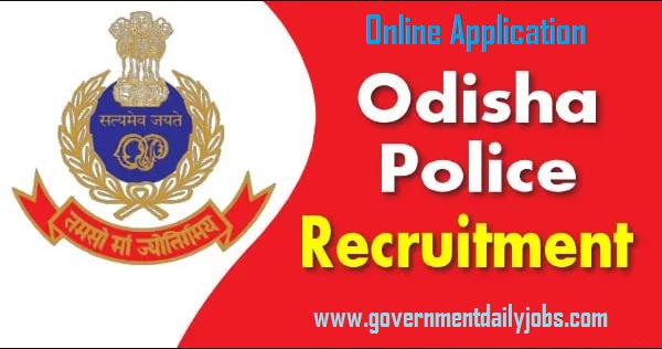 Orissa Police Recruitment 2020 Apply Online 231 Driver Job