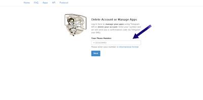 كيفية حذف حساب تيليجرام نهائيًا