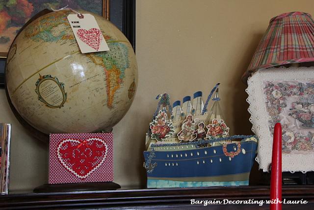 Love Boat Valentine Card