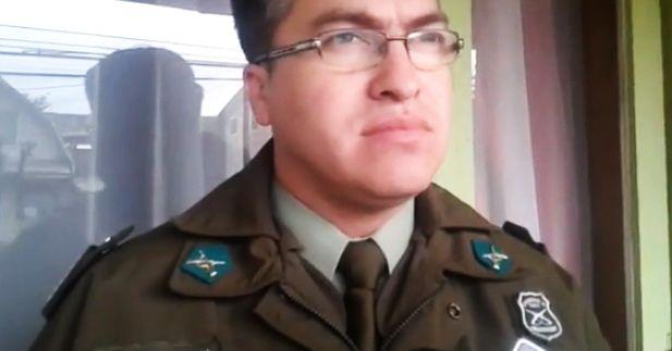 Pablo Urrutia capitán de Carabineros