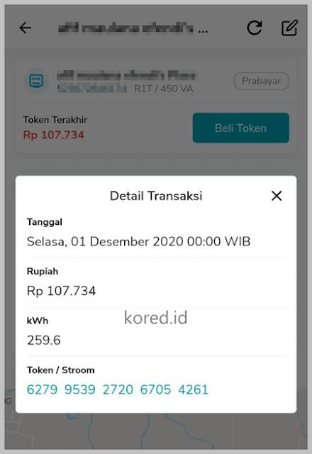 Cek Nomor Token Listrik di Aplikasi PLN Mobile