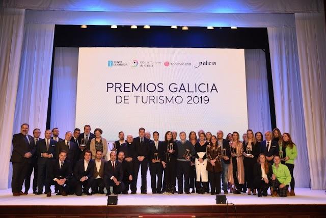 El Clúster Turismo de Galicia y la Xunta de Galicia entregaron los Premios Galicia de Turismo 2019