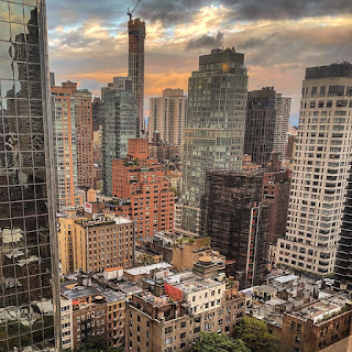 Aerial view of the East Side, Manhattan