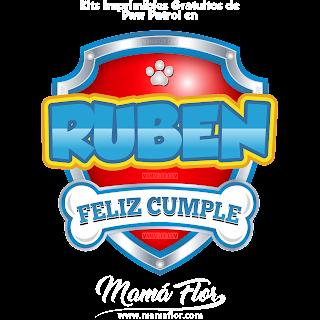 Logo de Paw Patrol: RUBEN