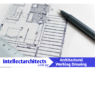 Architectural working drawing