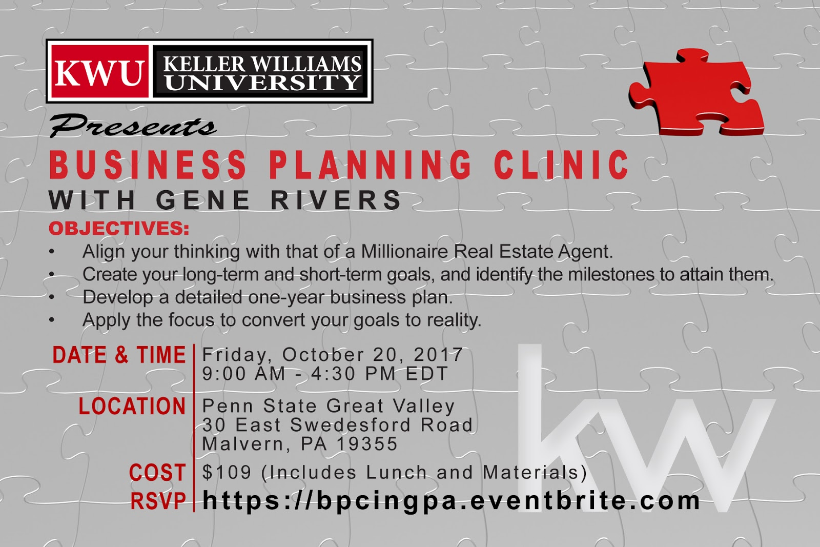 millionaire real estate agent business plan Business Planning Clinic is Coming Oct. 20th!! Tickets are going ...