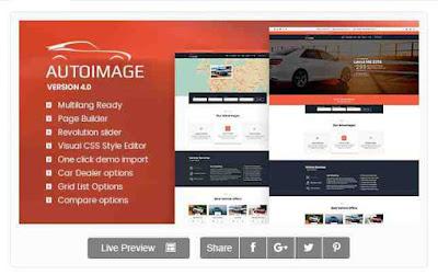 Download Theme Wordpress Automotive Car Dealer