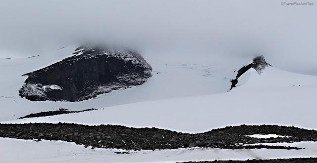 Randonnée jusqu'au glacier Styggebrean, Juvasshytta, Jotunheimen, Norvège