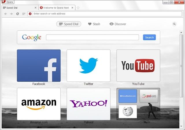 Opera Browser Free Download