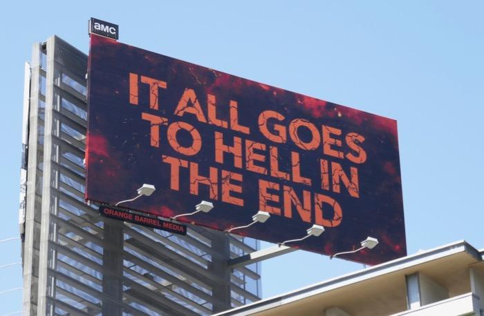 Preacher final season billboard