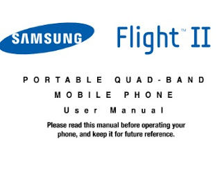 Samsung Flight II Manual