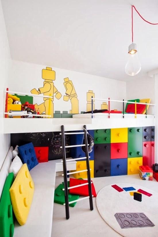 dormitorio tema lego