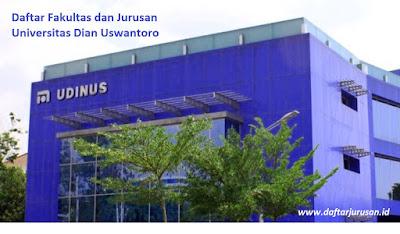 Daftar Fakultas dan Jurusan Universitas Dian Uswantoro