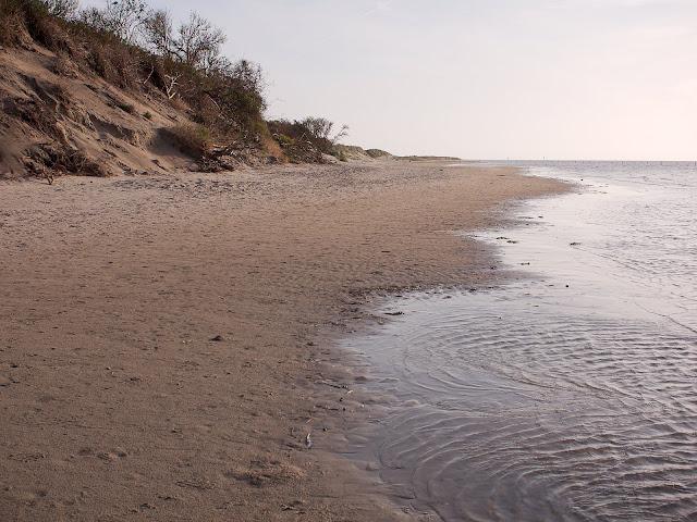 Langeoog; Strand am Ostende