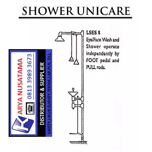 Jual Unicare Safety Emergency Shower di Bekasi