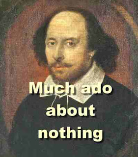 The comedy of much ado about nothing