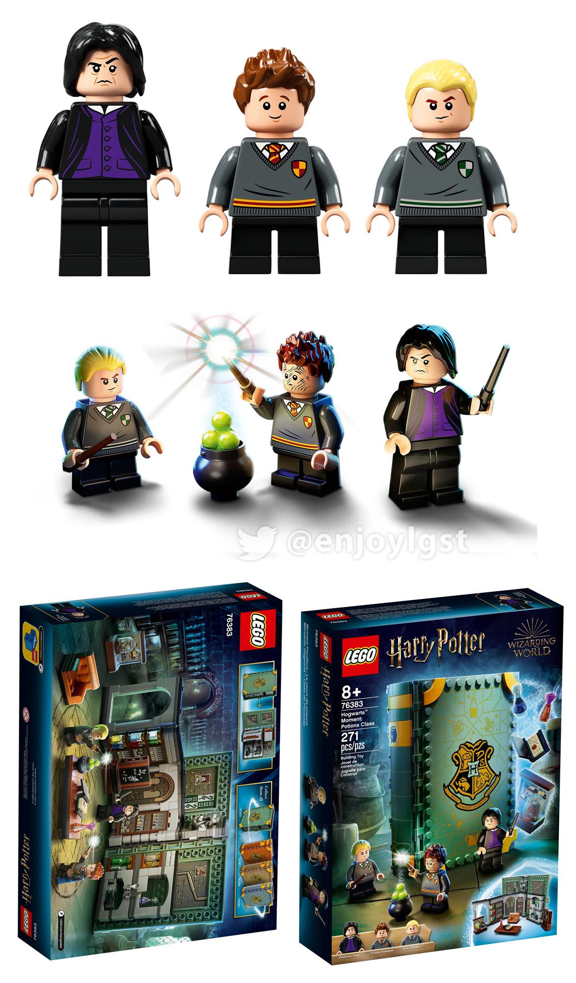 2021年レゴハリー・ポッター新製品第1弾情報!みんな大好き魔法シリーズ:本シリーズ発売