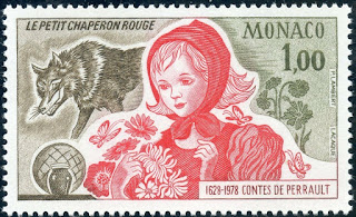 Monaco  1978 350  Anniversary of Charles Perrault-Red Riding Hood.