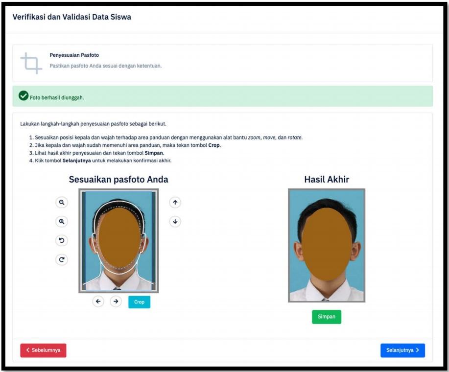 Penyesuaian Pasfoto LTMPT