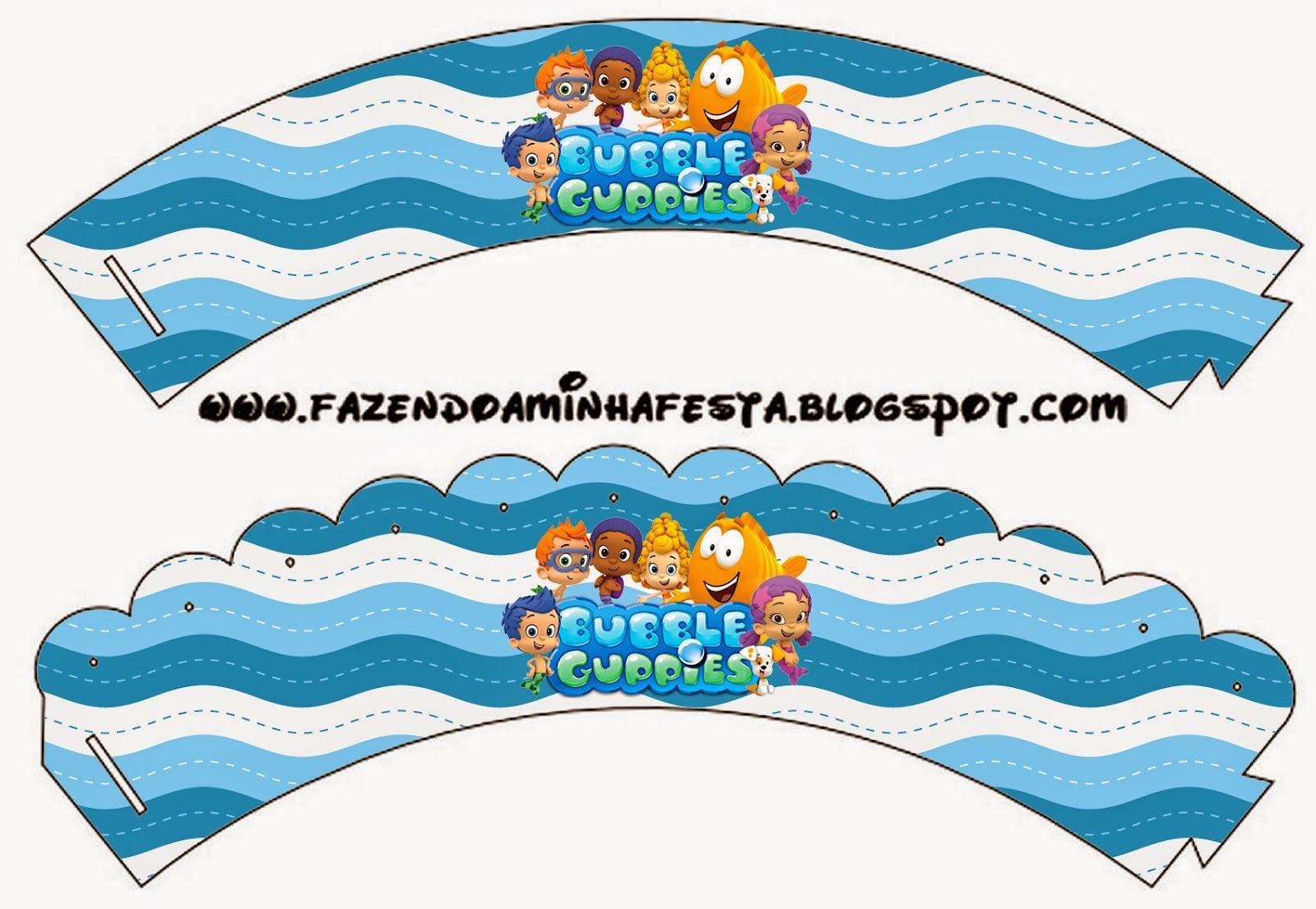 Bubble Guppies Free Printable Kit 012