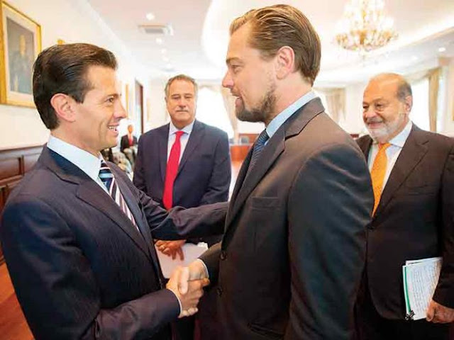 Los memes de la reunión entre Peña Nieto y Leonardo DiCaprio