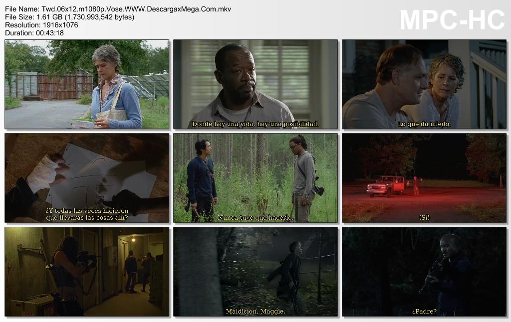 The Walking Dead Temporada 6 capitulo 12 hd Castellano English