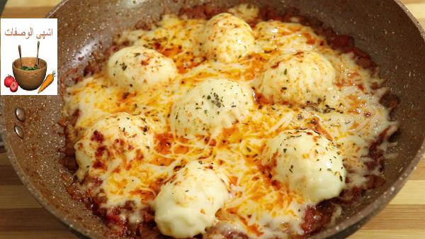 البيض على الطريقة التركية وجبة رائعة وسريعة للفطور او العشاء رووعة