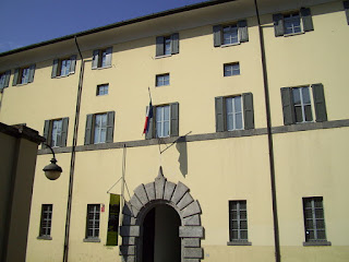 Palazzo Volpi in Como, home of the city's civic art gallery, where Sant'Elia's drawings can be seen