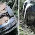 Motorista perde controle do carro e capota na RS - 168 em Bossoroca