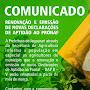 COMUNICADO  prefeitura de Jaguarari