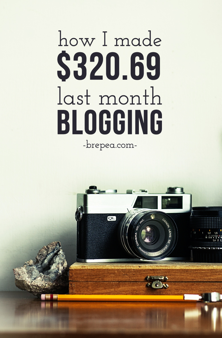 How I made money last month as a DIY and crafty blogger.