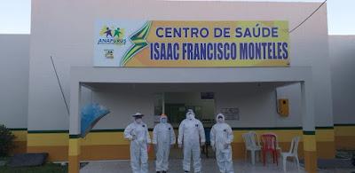 Centro de Saúde Isaac Francisco Monteles especificamente para atender os pacientes