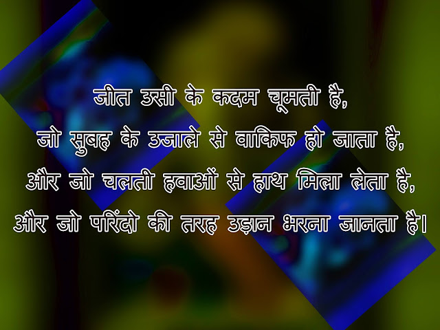 motivational hindi urdu shayari