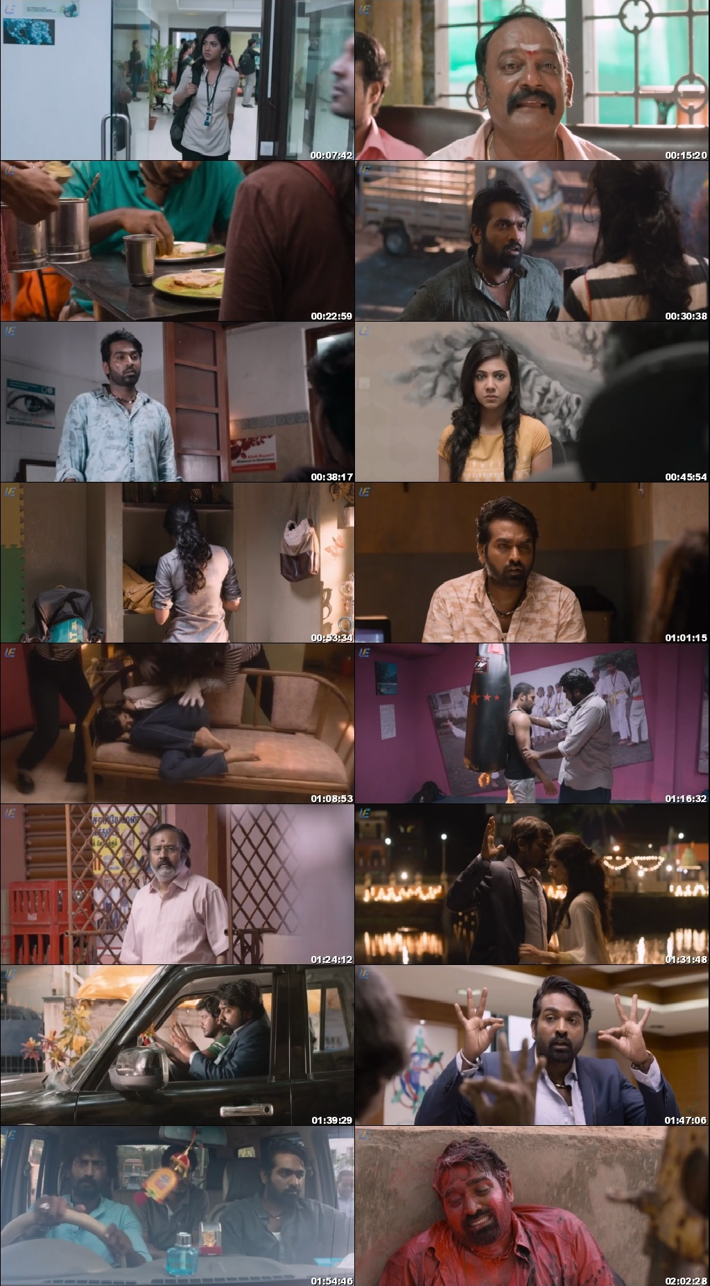 Screen Shot Of Kadhalum Kadanthu Pogum 2016 300MB Full Movie Hindi Dubbed Free Download 720P HDRip HEVC