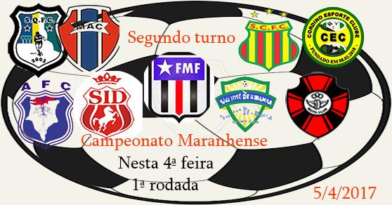 Começa hoje o segundo turno do Maranhense